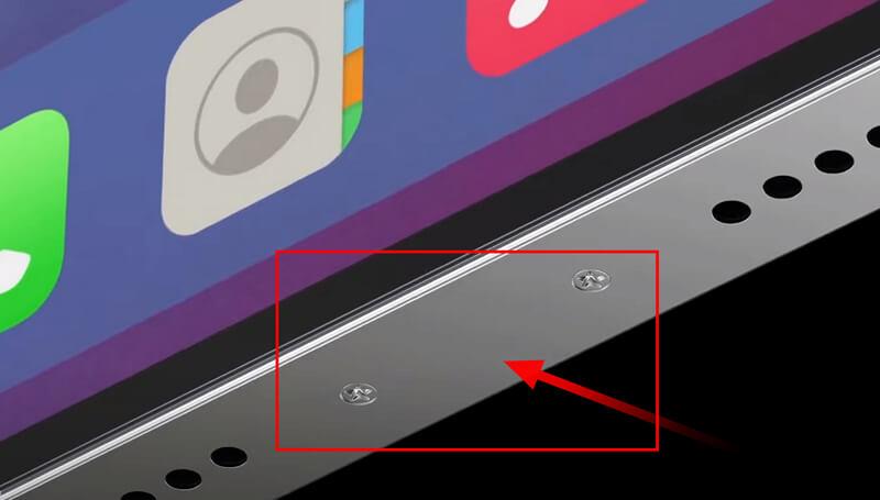 포트리스(구멍이 사라진) 아이폰