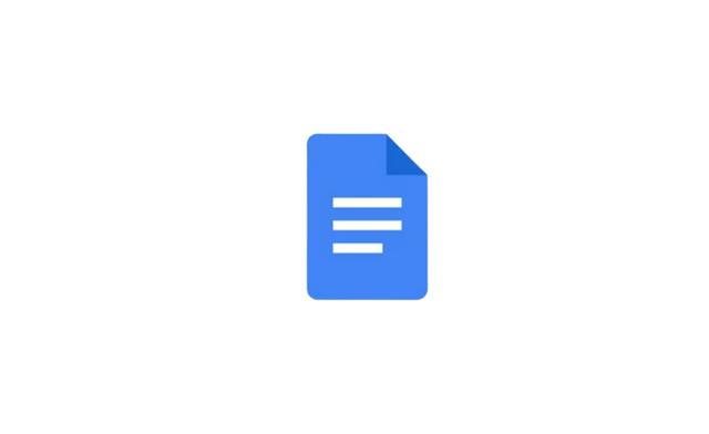 구글 문서도구 로고
