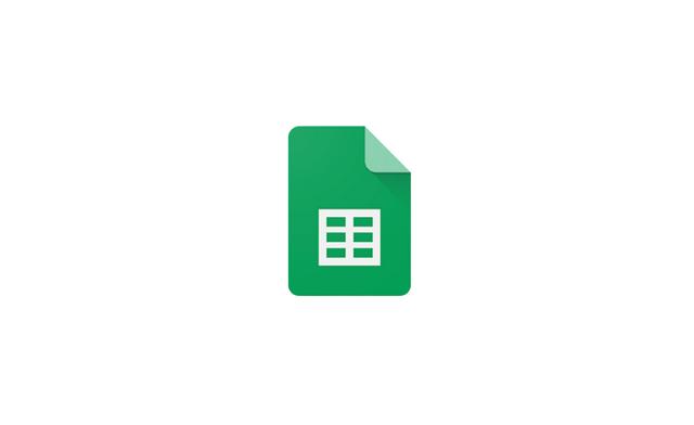 구글 스프레드 시트 로고