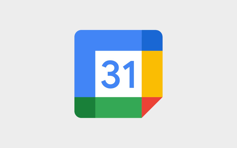 구글 캘린더 로고