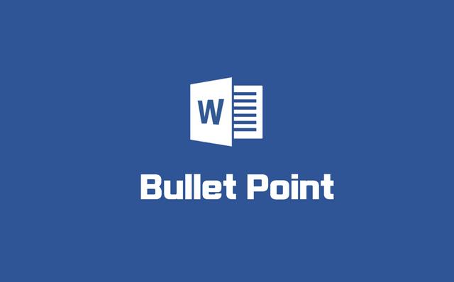 워드 로고 bullet point 타이포