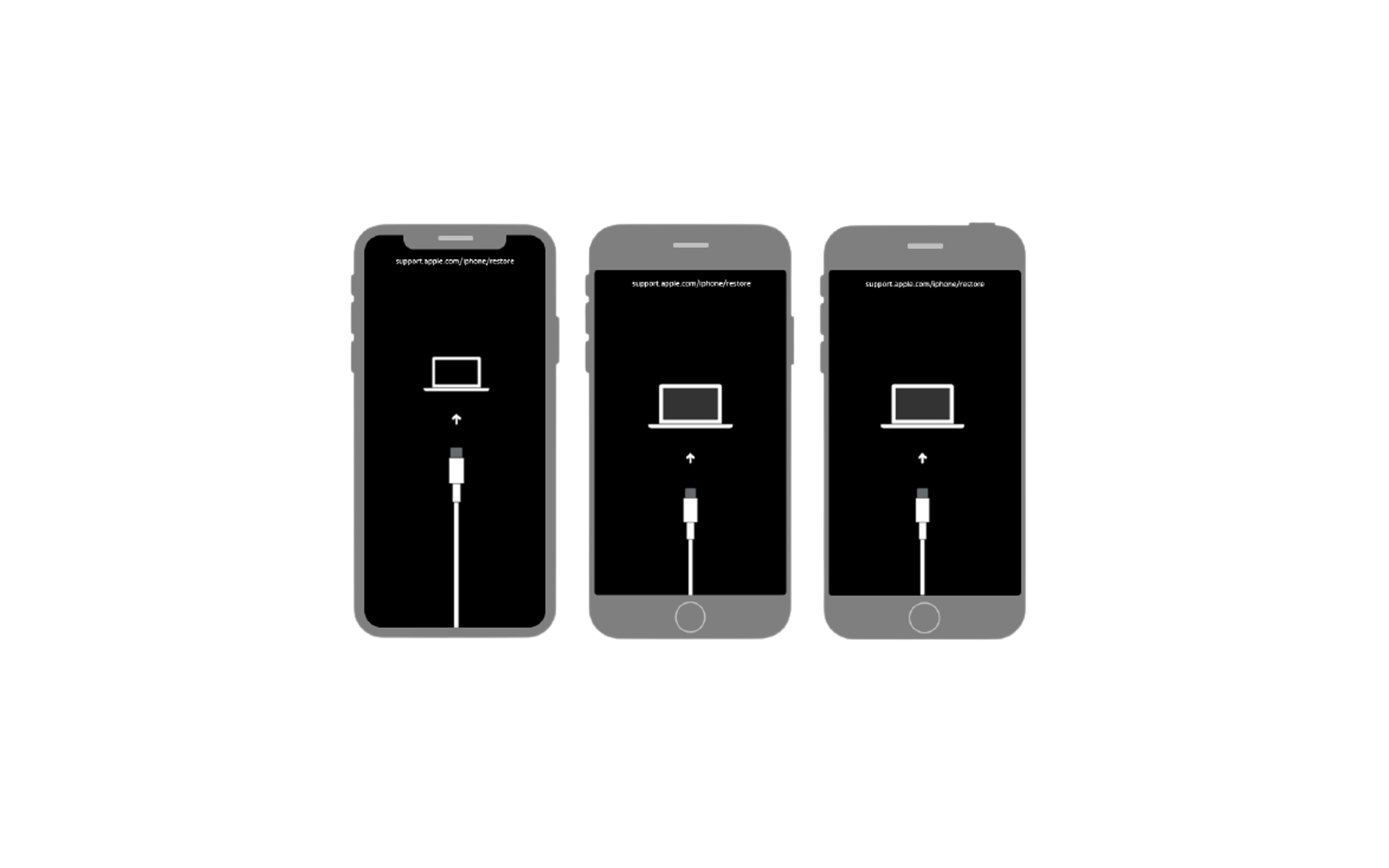 아이폰 복구모드 이미지