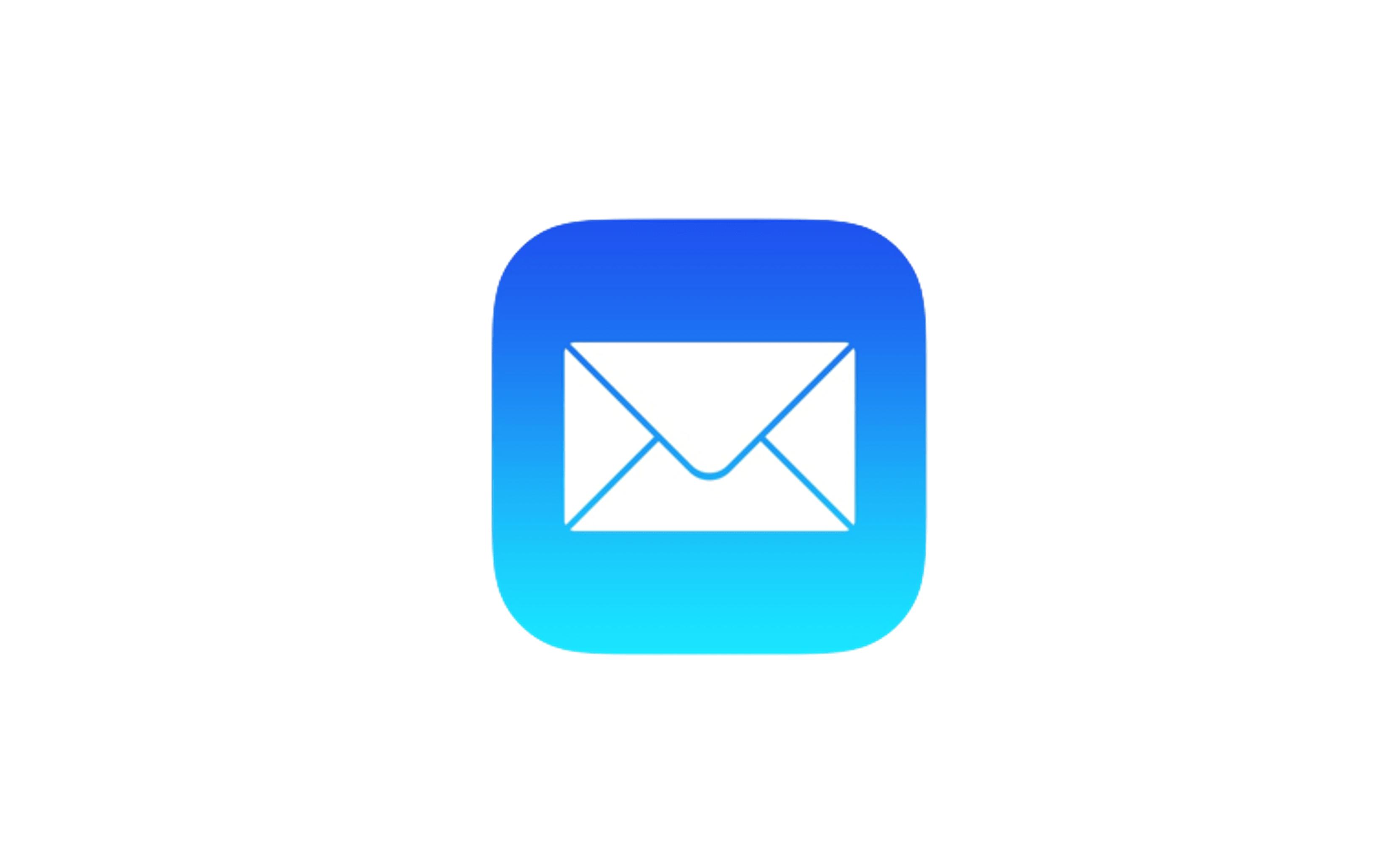 애플 메일로고