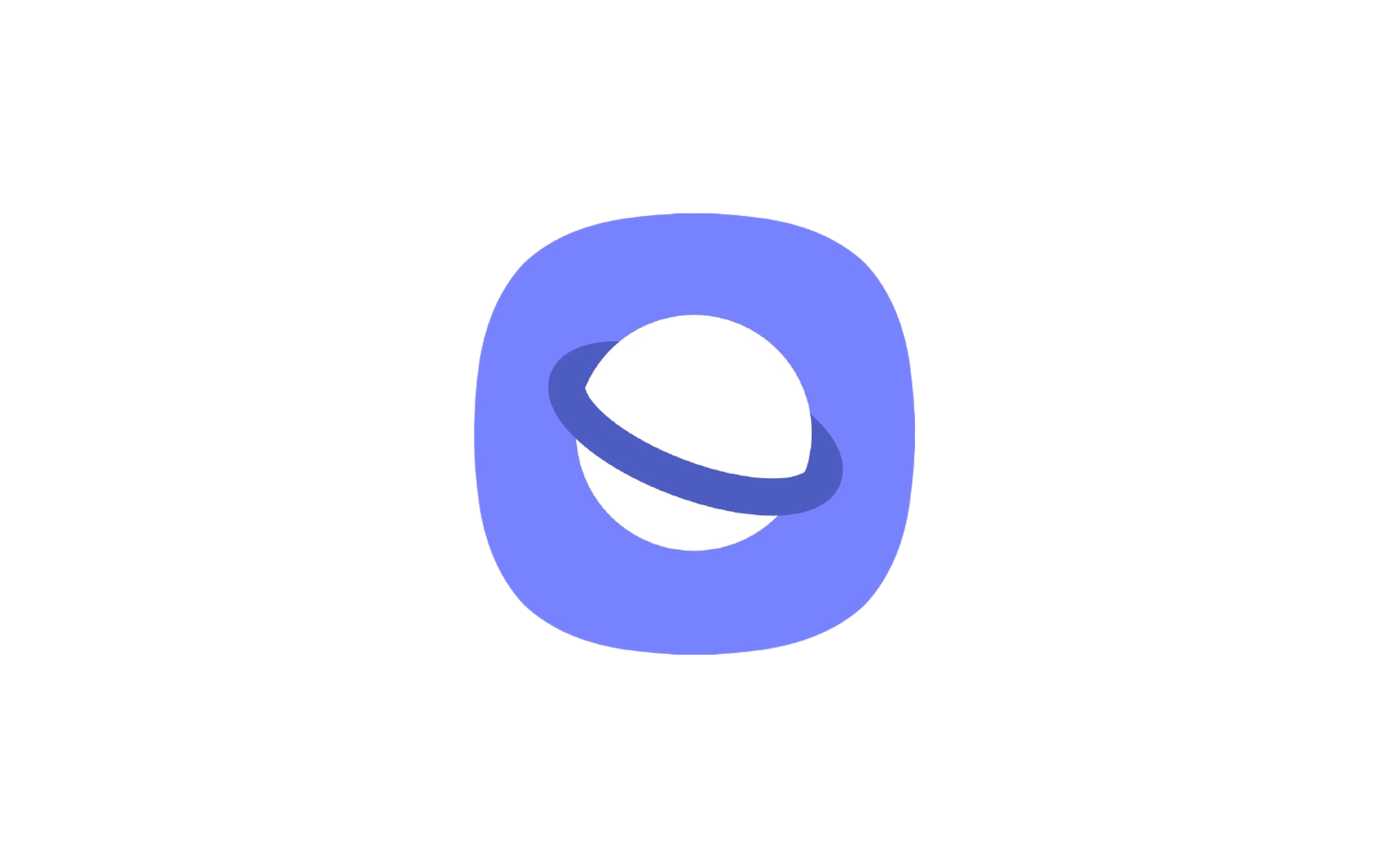 삼성 브라우저 로고 아이콘