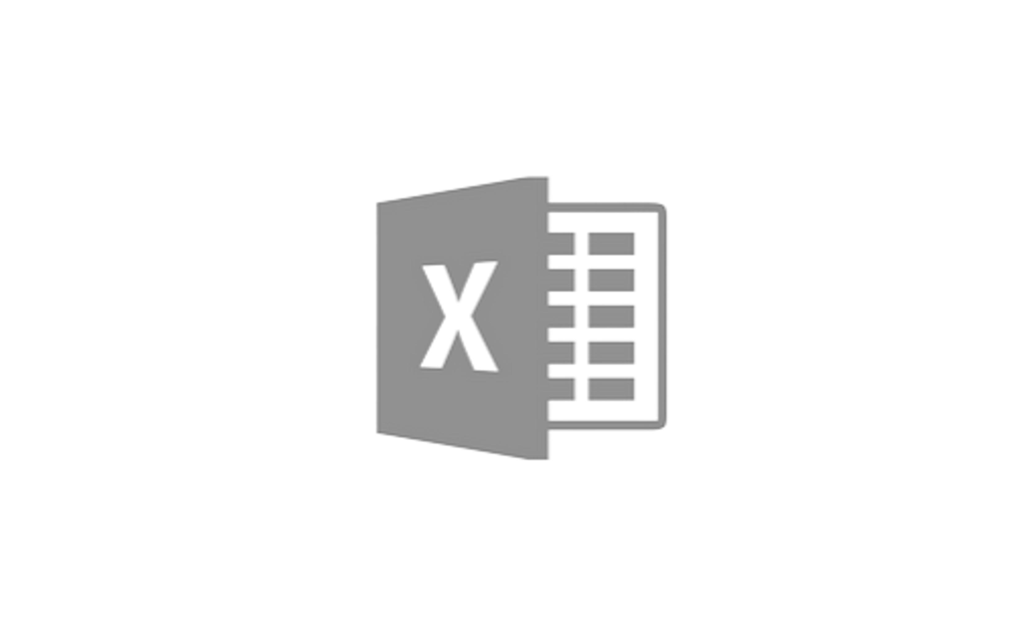 Excel 로고