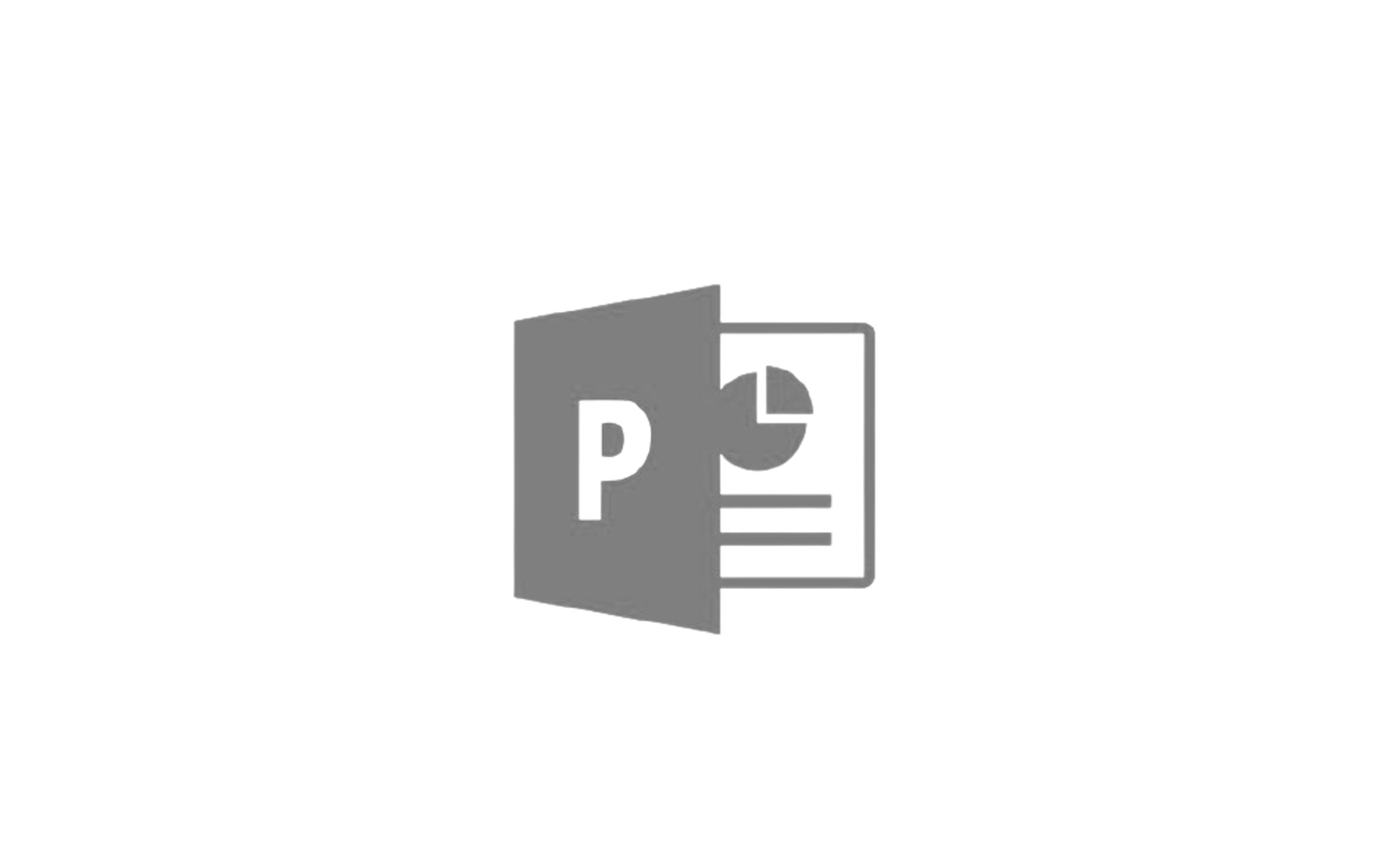 Powerpoint 로고