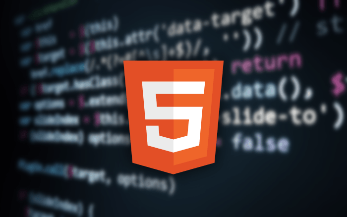 코드 에디터 배경 HTML 로고